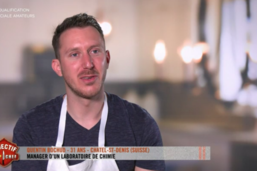 Quentin Bochud brille dans «Objectif Top Chef»